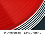 vinyl record rotate. a ray of... | Shutterstock . vector #1241078542