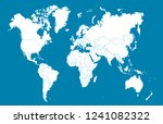 color world map vector | Shutterstock .eps vector #1241082322