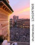 milano  italy. view of duomo...   Shutterstock . vector #1241097805