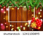 illustration for merry... | Shutterstock . vector #1241100895