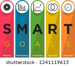 key performance indicator with... | Shutterstock .eps vector #1241119615