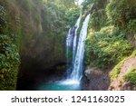 famous aling aling waterfall... | Shutterstock . vector #1241163025