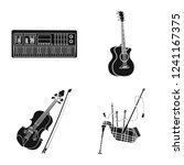 vector design of music and tune ... | Shutterstock .eps vector #1241167375