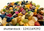 natural polished gemstone semi... | Shutterstock . vector #1241169292