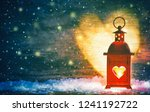 romantic background or greeting ... | Shutterstock . vector #1241192722