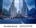 new york   december 6  chrysler ...   Shutterstock . vector #124119745