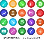 round color solid flat icon set ... | Shutterstock .eps vector #1241203195