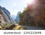 kings river canyon in kings... | Shutterstock . vector #1241213698