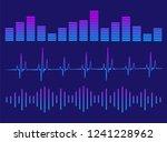 a set of equalizers. equalizer...   Shutterstock .eps vector #1241228962