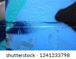 blue black bend. fragment of...   Shutterstock . vector #1241233798