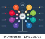 business presentation concept... | Shutterstock .eps vector #1241260738
