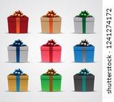 vector illustration of square...   Shutterstock .eps vector #1241274172