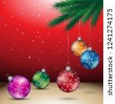 vector illustration of red...   Shutterstock .eps vector #1241274175
