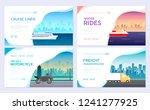 variations transport of travel... | Shutterstock .eps vector #1241277925