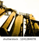 obsolete  industrial facility | Shutterstock . vector #1241284078