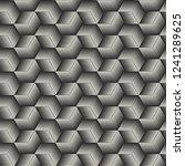 vector seamless lines mosaic... | Shutterstock .eps vector #1241289625