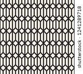 vector seamless geometric... | Shutterstock .eps vector #1241289718