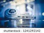 selective laser melting. object ... | Shutterstock . vector #1241292142