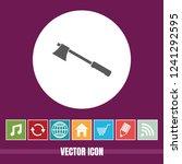 very useful vector icon of axe...