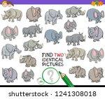 cartoon illustration of finding ... | Shutterstock .eps vector #1241308018