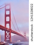 golden gate bridge view from... | Shutterstock . vector #1241328022