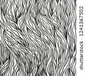 wavy background. hand drawn... | Shutterstock .eps vector #1241367502