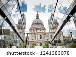 st. paul's cathedral in london | Shutterstock . vector #1241383078