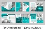 brochure creative design.... | Shutterstock .eps vector #1241402008