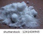 the white salt of potassium... | Shutterstock . vector #1241434945