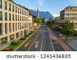 street of vaduz  | Shutterstock . vector #1241436835