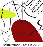 abstract vector artwork ... | Shutterstock .eps vector #1241452912