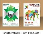 business abstract vector... | Shutterstock .eps vector #1241465635