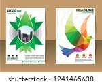 business abstract vector... | Shutterstock .eps vector #1241465638