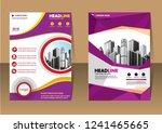 business abstract vector... | Shutterstock .eps vector #1241465665