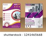 business abstract vector... | Shutterstock .eps vector #1241465668