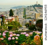 Lombard Street On Russian Hill  ...