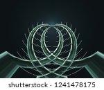 cactus. digitally rendered... | Shutterstock . vector #1241478175