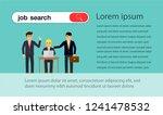 project teamwork concept... | Shutterstock .eps vector #1241478532