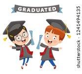 vector illustration of cartoon...   Shutterstock .eps vector #1241494135
