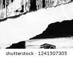 blank black white creased... | Shutterstock . vector #1241507305