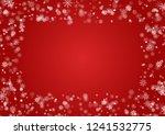 snowflake round border vector... | Shutterstock .eps vector #1241532775
