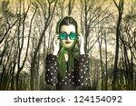 fine art photo of a beautiful... | Shutterstock . vector #124154092