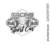sport cars racing vector  logo... | Shutterstock .eps vector #1241547355