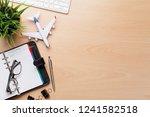 business trip concept.... | Shutterstock . vector #1241582518