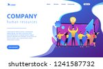 company enployees and leader... | Shutterstock .eps vector #1241587732