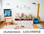 interior design of a... | Shutterstock . vector #1241598958