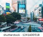 shibuya tokyo japan   july 29   ... | Shutterstock . vector #1241600518