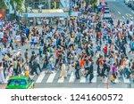 tokyo  japan jul 29  2018  ... | Shutterstock . vector #1241600572