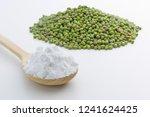 close up of mung bean starch...   Shutterstock . vector #1241624425