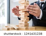 alternative risk concept  plan... | Shutterstock . vector #1241631238